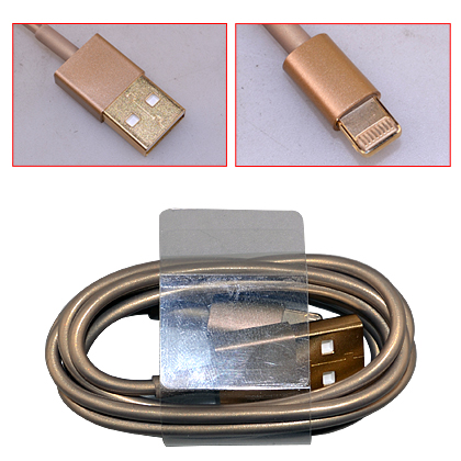 golden usb cable for iPhone 5s