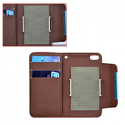 wallet pu covers for iPhone 5S