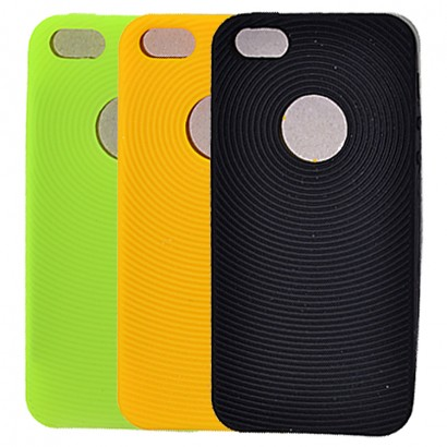 Fingerprint silicon case
