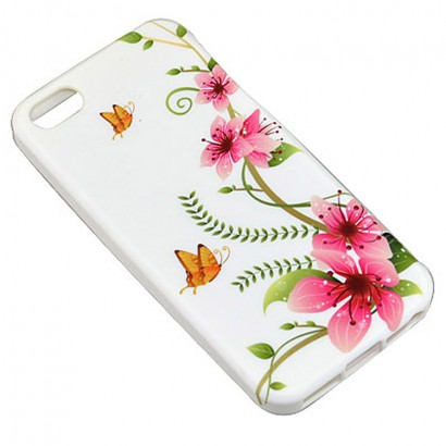 flower soft case for iPhone 5s