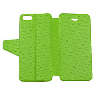 green pu case for iPhone 5S