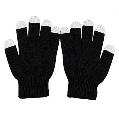five fingers touch screen gloves